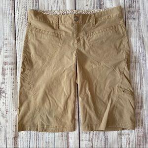Athleta Nylon Hiking Dipper Bermuda 12 inch Shorts